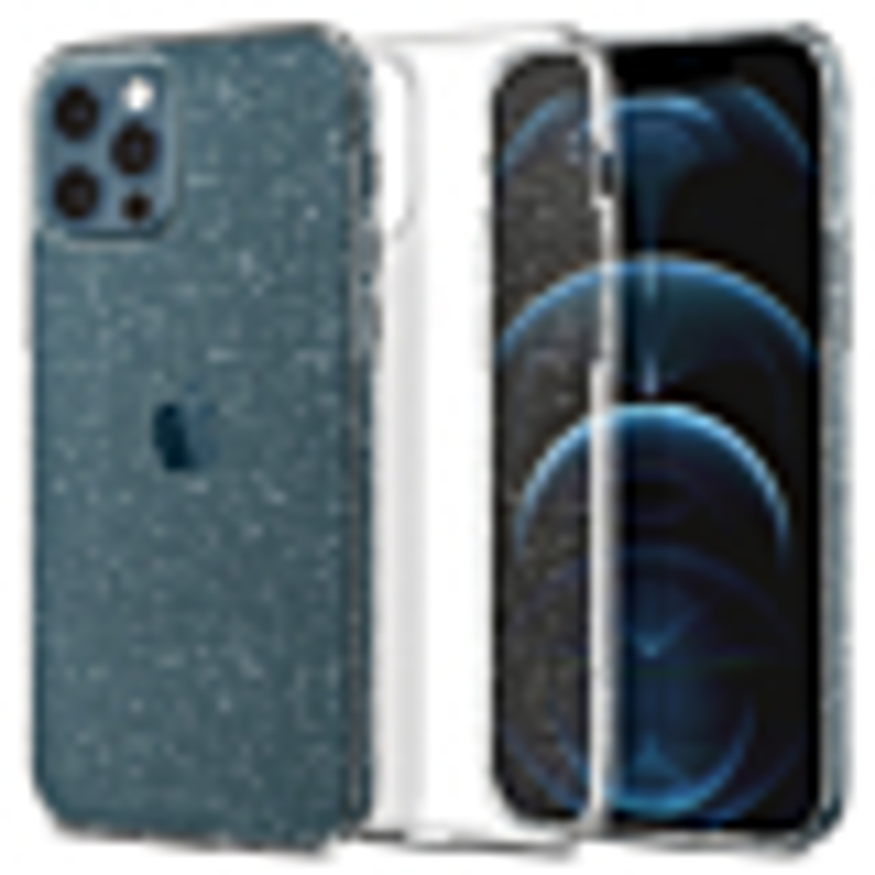 iPhone 12 / iPhone 12 Pro 保護殼 Liquid Crystal Glitter ACS01698-1